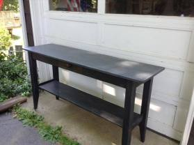 Console Table black