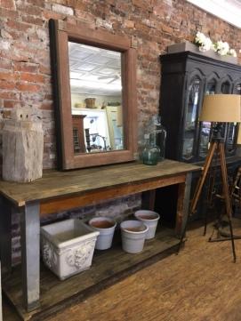 Farmtable with Mirror