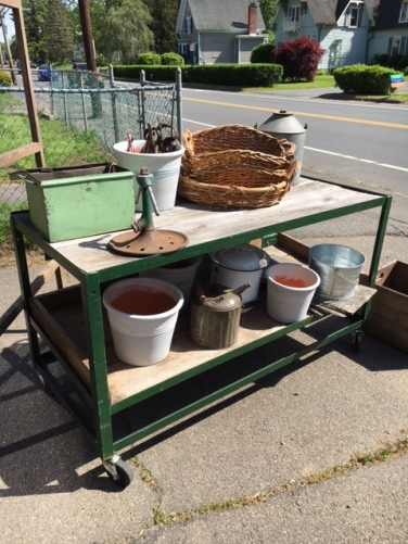 Repurposed Serio's Market Cart